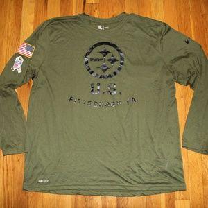 Nike Pittsburgh Steelers Salute to Service Shirt